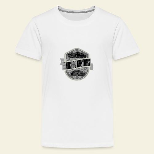 rd kustoms gray - Teenager premium T-shirt