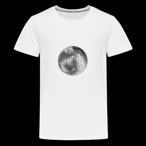 Disko pallo peili pallo - Teinien premium t-paita