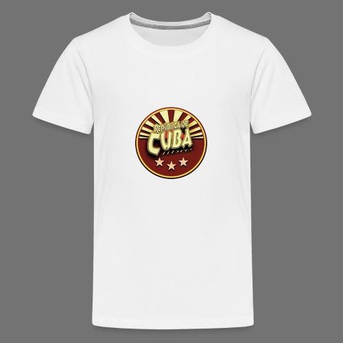 Republica De Cuba Libre - Teenager Premium T-Shirt