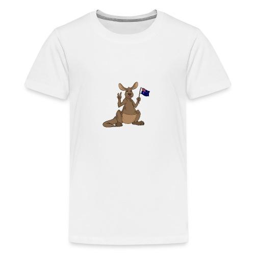 Kängeru png - Teenager Premium T-Shirt