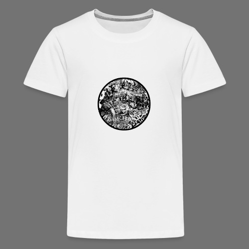 Urban Style black 1C - Teenager Premium T-Shirt