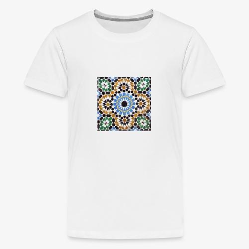 mosaique afrique du nord jpg - T-shirt Premium Ado