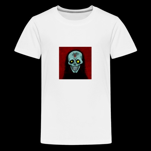 Ghost skull - Teenage Premium T-Shirt