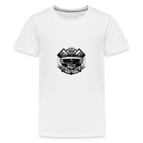 Old school - T-shirt Premium Ado