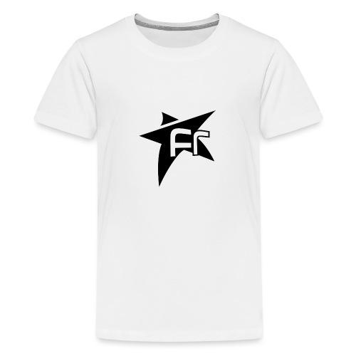 Etoile Fr transparent noi - T-shirt Premium Ado