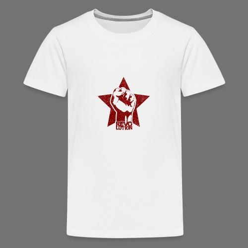 Revolution (oldstyle) - Teinien premium t-paita