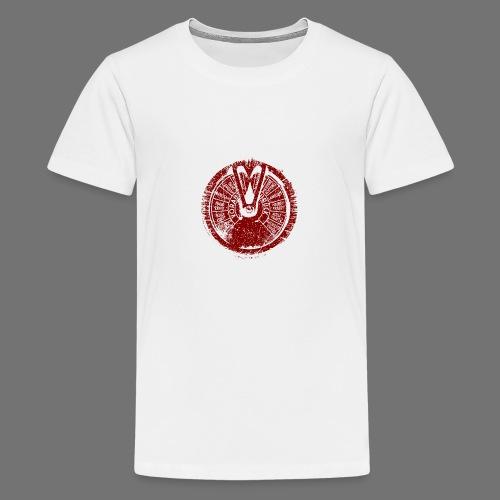 Maschinentelegraph (punainen oldstyle) - Teinien premium t-paita