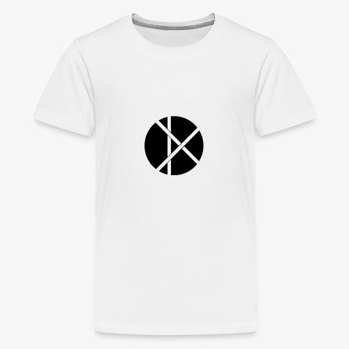 Don Logo - musta - Teinien premium t-paita