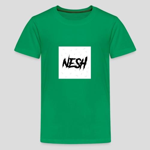 Nesh Logo - Teenager Premium T-Shirt