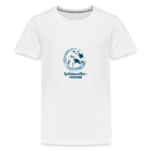 Schönwettertaucher - Teenager Premium T-Shirt