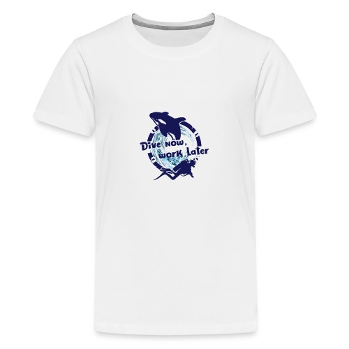Dive Now - Teenager Premium T-Shirt