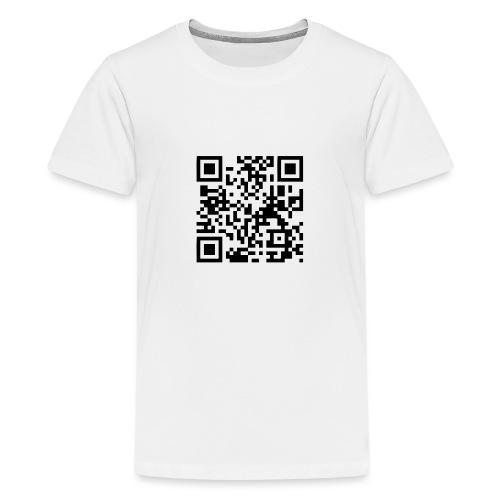 QR Code Geek - T-shirt Premium Ado