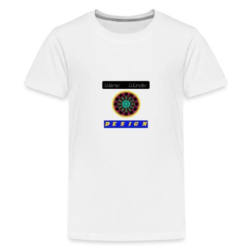 Wiener Wunder Design Logo #2 - Teenager Premium T-Shirt