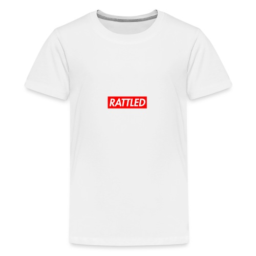 Rattled - Teenage Premium T-Shirt
