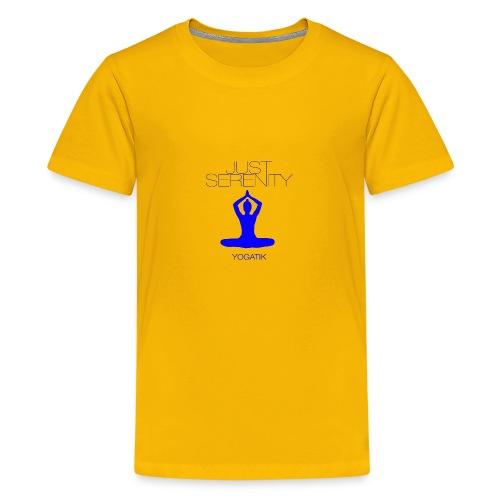 yogatyk blue - T-shirt Premium Ado