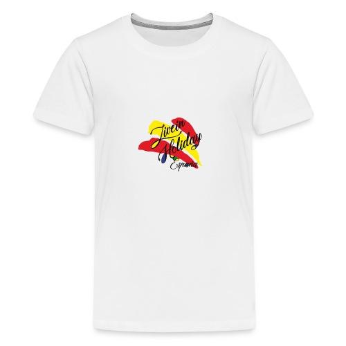 LiveinHoliday1!!! - Maglietta Premium per ragazzi