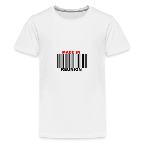 MADE IN REUNION - T-shirt Premium Ado