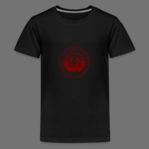 Cosmonaut 1c red (oldstyle) - Teenage Premium T-Shirt