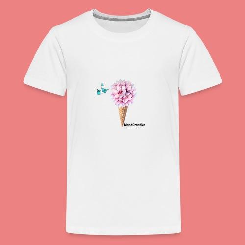 MoodCreativo - Maglietta Premium per ragazzi