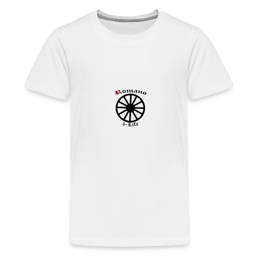 romano4life - Premium-T-shirt tonåring