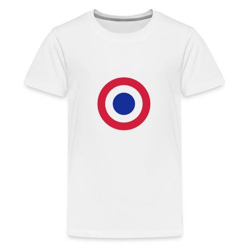 FFI Logo 2 manche - T-shirt Premium Ado