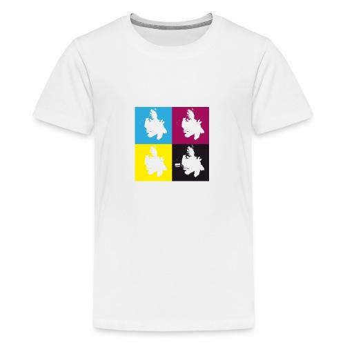 Diseño conmemorativo de Rocky Balboa - Camiseta premium adolescente