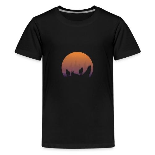Wolfsrudel - Teenager Premium T-Shirt