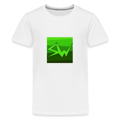SoupWizard Logo - Teenage Premium T-Shirt