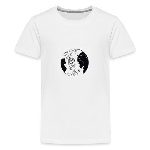 Skønheden og Udyret - Teenager premium T-shirt