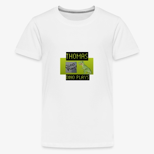 OFFICIAL DINO PLAYS MERCH - Teenage Premium T-Shirt