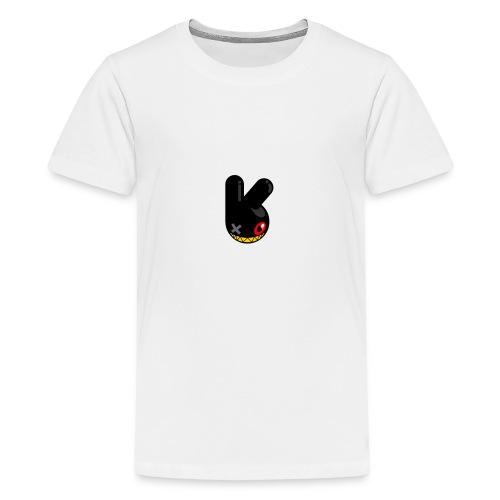 BLACK BUNN KING - Teenager Premium T-shirt