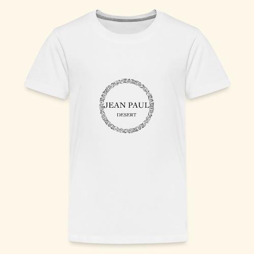 Logo - Jean Paul Desert - Teenage Premium T-Shirt