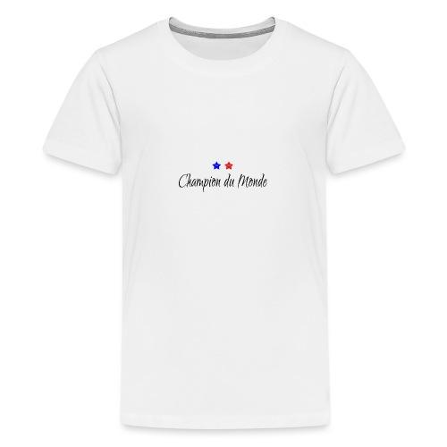 Champion du Monde 2018 - T-shirt Premium Ado