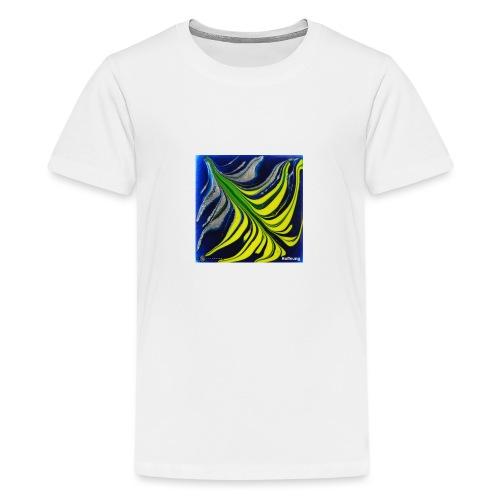 TIAN GREEN Mosaik DK037 - Hoffnung - Teenager Premium T-Shirt
