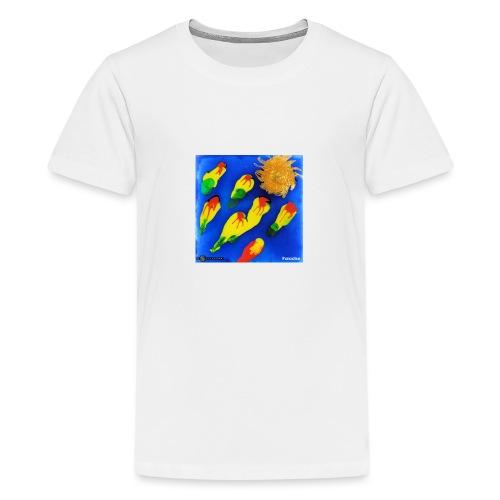 TIAN GREEN Mosaik DK035 - Paradise - Teenager Premium T-Shirt