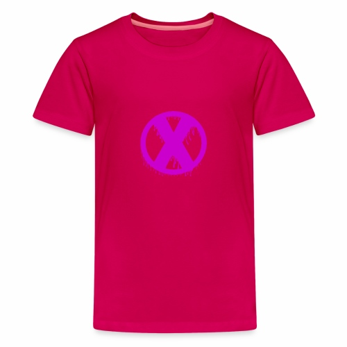 X - T-shirt Premium Ado