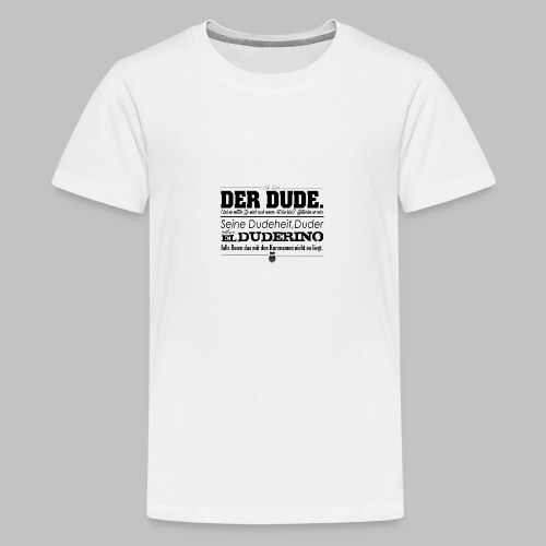 the Big Lebowski - Teenager Premium T-Shirt