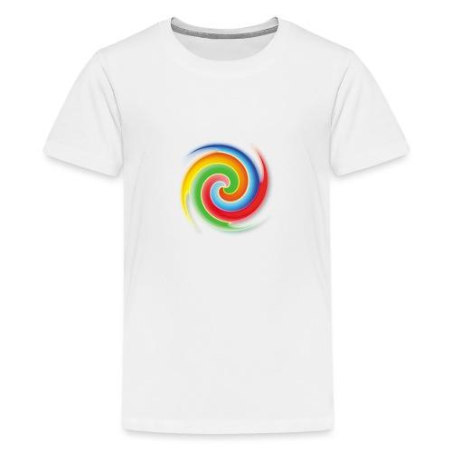 deisold rainbow Spiral - Teenager Premium T-Shirt