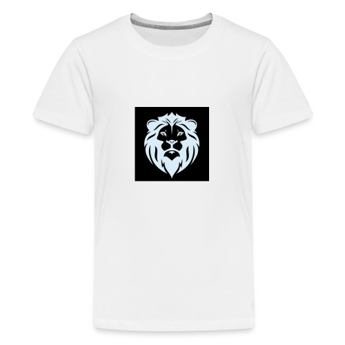 Inverted Lion Collection - Teenage Premium T-Shirt