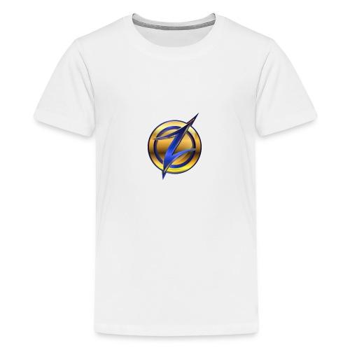 Zander logo - Teenage Premium T-Shirt