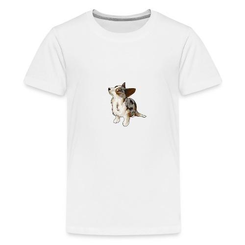 Corgi Merle - T-shirt Premium Ado