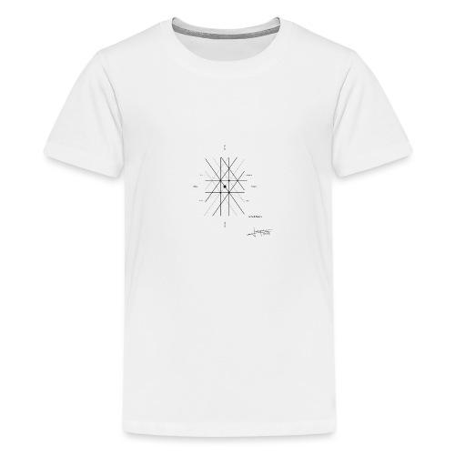 mathematique du centre_de_lunivers - Teenage Premium T-Shirt