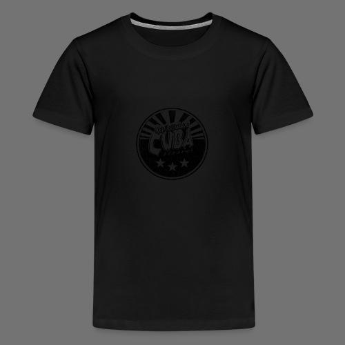 Cuba Libre (1c black) - Teenager Premium T-Shirt
