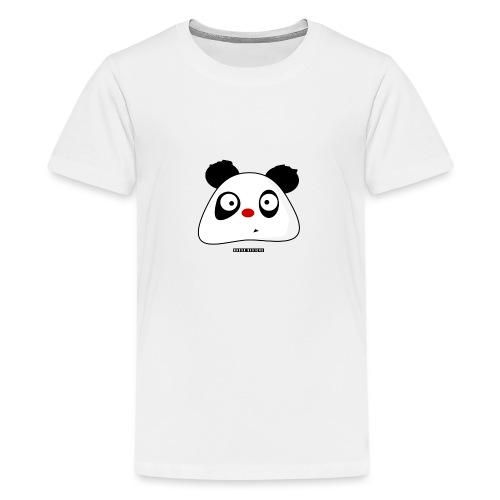 PandaPondo Bib by Hassa Designs - Premium T-skjorte for tenåringer