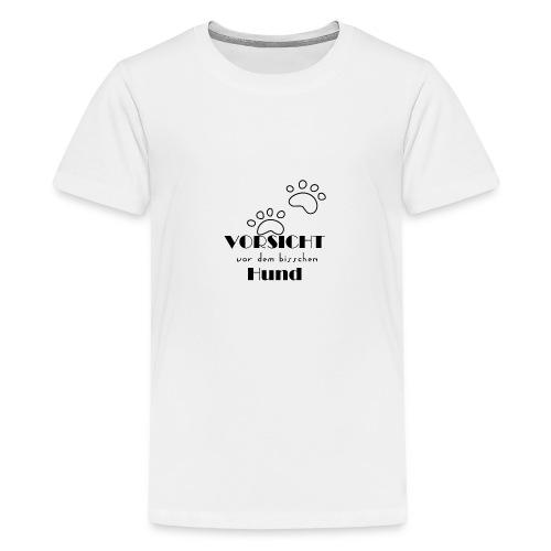 bisschen Hund - Teenager Premium T-Shirt