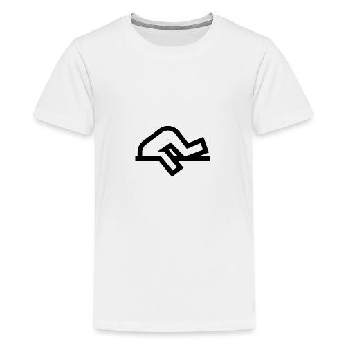Tête bloqué dans le béton - T-shirt Premium Ado