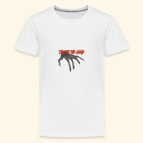 Talk To The Hand - Teenager Premium T-shirt