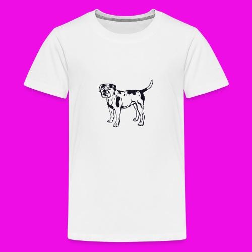 images 7 400vectorized - Camiseta premium adolescente