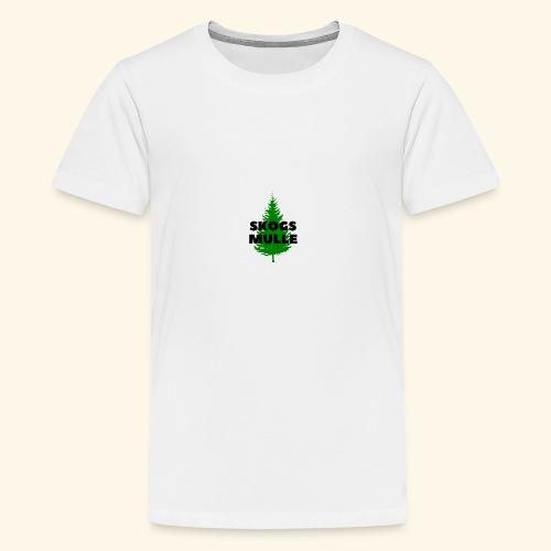 Skogsmulle - Premium-T-shirt tonåring