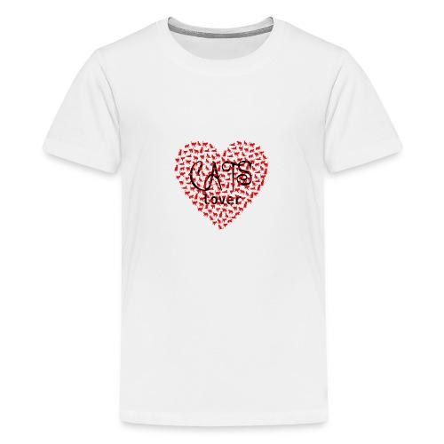 cats lover - Teenager Premium T-Shirt